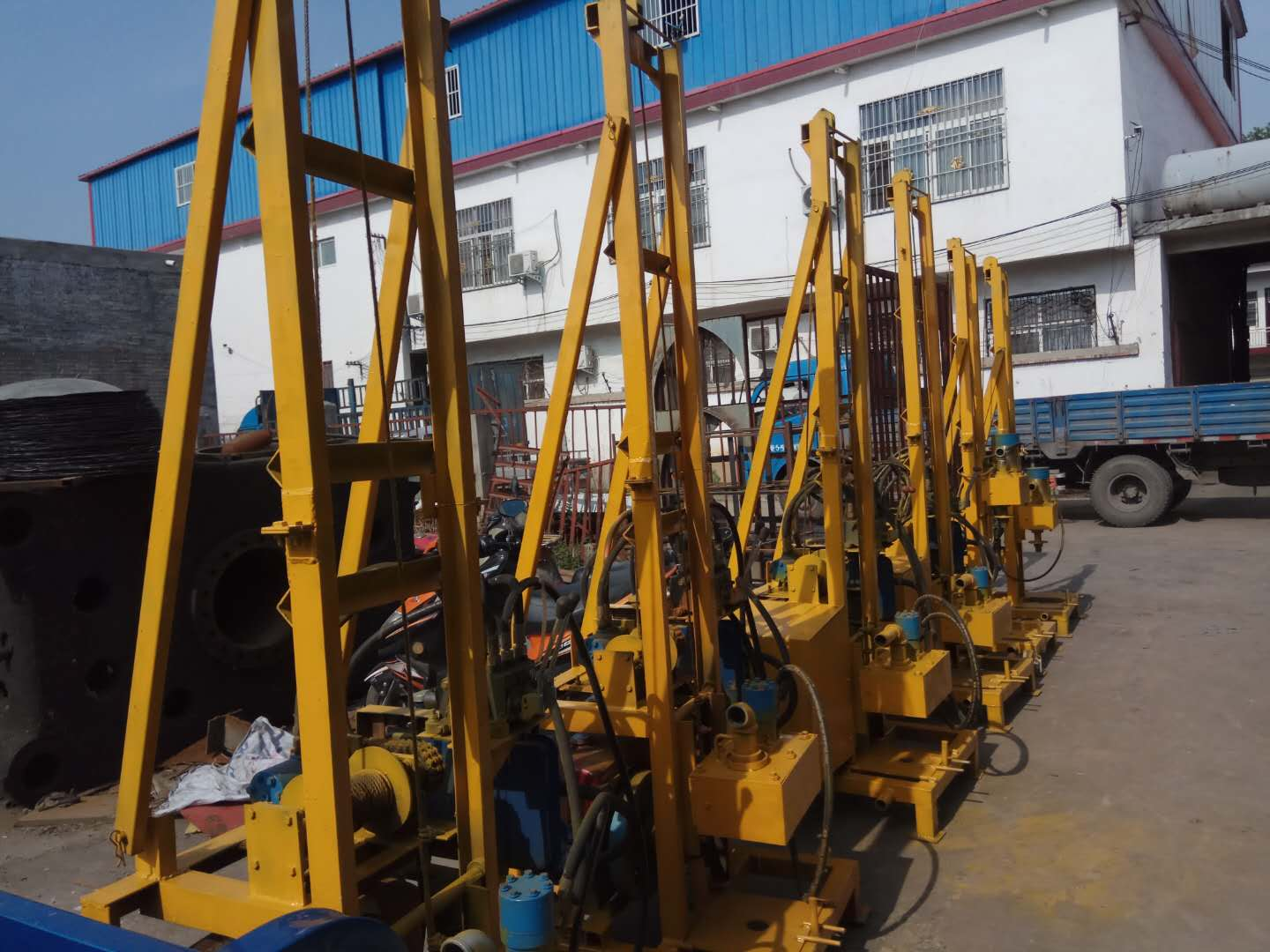 PORTABLE BOREHOLE WATER WELL DRILLING MACHINE – SA-IMPORTERS